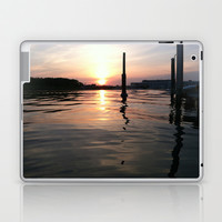 Sunset Ripples Laptop & iPad Skin by Kyna Ng