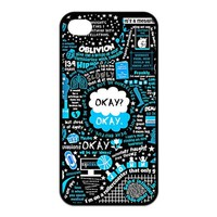 The Fault in Our Stars Custom TPU Case Cover Protective Skin For Iphone 4 4s iphone4s-NY1139