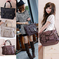 Fashion Korean Women Satchel Shoulder Handbag Messenger Crossbody Tote Bag Hobo