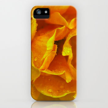 Rose Drops iPhone & iPod Case by Ia Loredana | Society6