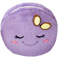 Comfort Food Macaron: An Adorable Fuzzy Plush to Snurfle and Squeeze!