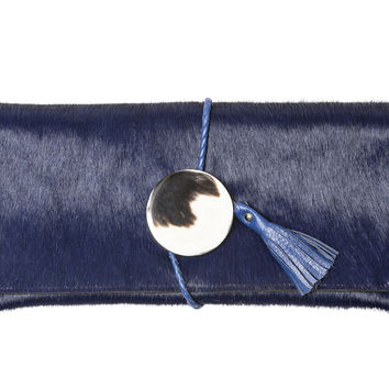 Georgia Pony Clutch in Blue – Me & Ms Georgie