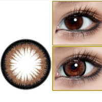 GEO Bambi Princess Mimi Almond Brown Cosmetic Contact Lenses | EyeCandy's