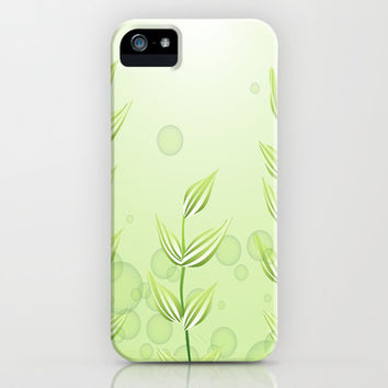 Underwater Plants iPhone & iPod Case by Texnotropio