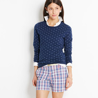 Polka Dot Crew Sweater