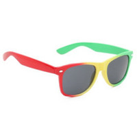 Rasta Retro Sunglasses
