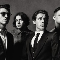 SV1816 Arctic Monkeys Indie Rock Band Music BW Art 24x18 Print POSTER