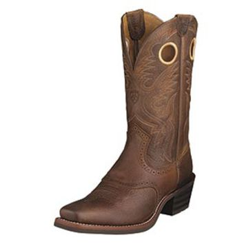Ariat Men's Heritage Roughstock Square Toe Boots