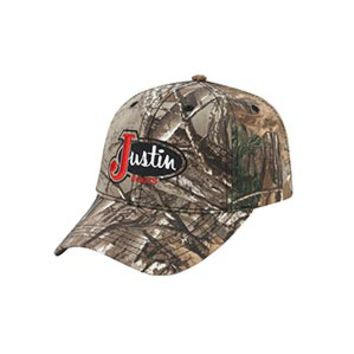 Justin All Over Camo Realtree Xtra Hat
