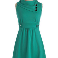 Coach Tour Dress in Spearmint | Mod Retro Vintage Dresses | ModCloth.com
