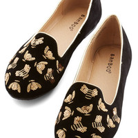 ModCloth Menswear Inspired Buzz About Town Flat