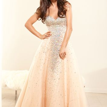 Terani P3093 Sweetheart Ball Gown