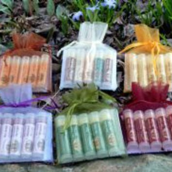 Bee Balm for Lips Gift Bags 5 count, - (.2 oz. each)