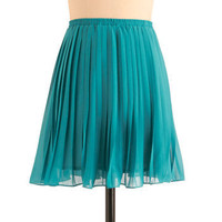 As You Swish Skirt in Teal | ModCloth.com
