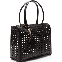 Laser-Cut Leather Tote by Marni - Moda Operandi