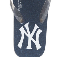 NY Yankees Flip Flop | Wet Seal