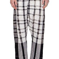 VIVIENNE WESTWOOD - PANTALONE - GREY PLAID : Well Connected