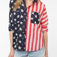 BDG Flag Breezy Shirt