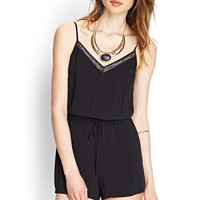 Beaded Cami Romper