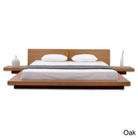 Fujian 3-piece Queen-size Platform Bedroom Set