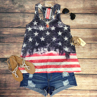 STAND PROUD TANK – LaRue Chic Boutique