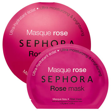 SEPHORA COLLECTION Rose mask - Moisturizing & brightening (0.84 oz)