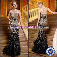 AO62076 Black And Gold Luxury Wedding Bare Back Mermaid Dress Backless Lace Evening Dresses, View backless lace evening dresses, choiyes Product Details from Chaozhou Choiyes Evening Dress Co., Ltd. on Alibaba.com