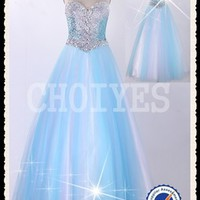 drop shipping Dress Strapless mesh ballgown jeweled bodice sweetheart neckline Prom Dress 2014, View prom dresses 2013, CHOIYES Promn Dress Product Details from Chaozhou Choiyes Evening Dress Co., Ltd. on Alibaba.com