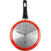 Cooking Time Wall Clock ? funky red kitchen clocks