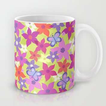 happy garden Mug by Juliagrifol designs