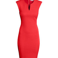 H&M - Sleeveless Dress - Red - Ladies