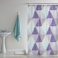 Patchwork Prism Shower Curtain