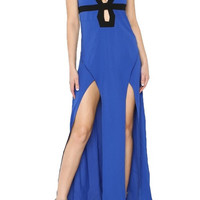 Captivated By You Maxi Dress - Blue | Daily Chic