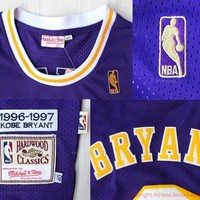 Kobe Bryant 8 Los Angeles Lakers Hardwood Classic NBA Basketball Jersey La Lakers