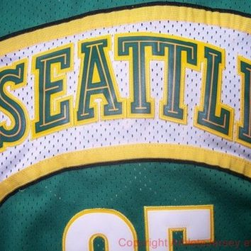 Kevin Durant 35 Seattle SuperSonics NBA Basketball Jersey Durant Seattle Sonic