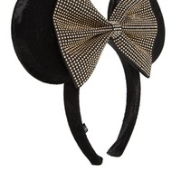 Disney Minnie Mouse Exclusive For ASOS Oversize Studded Bow Ears Alice