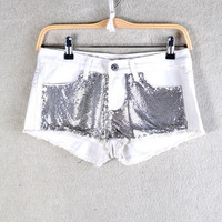 SEQUIN OF EVENT SHORTS | Paper Kranes