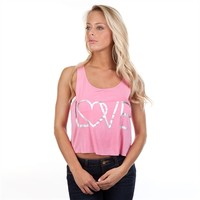Chance or Fate Juniors Love Cropped Tank at Von Maur