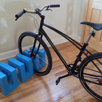 Modern, Minimalist Bicycle Stand/Rack