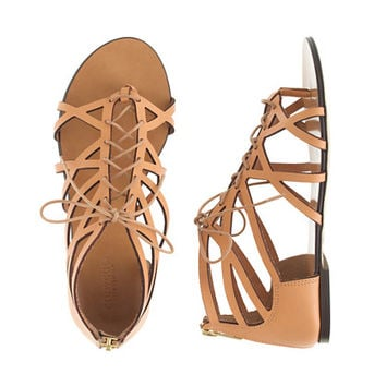 GIRLS' STRAPPY GLADIATOR SANDALS