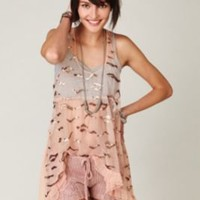 Merry Happy Hi-lo Top at Free People Clothing Boutique