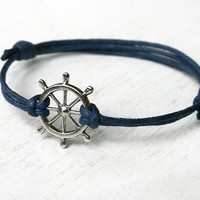Sailing Wheel Bracelet - Good for Man and Woman (Many color to choose)