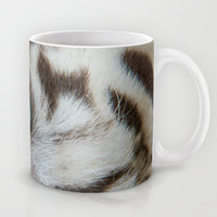 EYE OF THE WHITE TIGER Mug by Catspaws | Society6