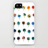 luminous balloons iPhone & iPod Case by clemm