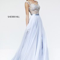Sherri Hill 11151 Sherri Hill Prom Dresses, Pageant Dresses, Cocktail | Jovani | Sherri Hill | Terani | Mac Duggal | La Femme from Glitteratistyle.com