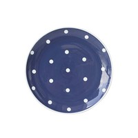 Polka Dot Dinner Plates, Set of 4, Dinner Plates