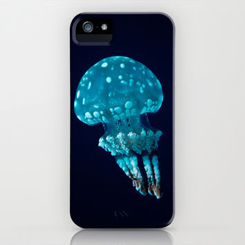 jellyfish iPhone & iPod Case by Sara Eshak
