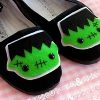 Frankenstein Shoes Frankenstein&#x27;s Monster Mary by emandsprout