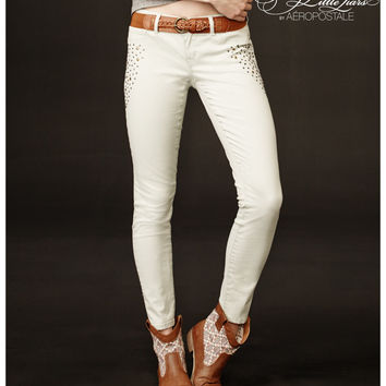 Pretty Little Liars Emily Studded Color Wash Jegging