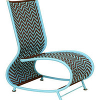 toogou chair by moroso m'afrique in sky/brown - ABC Carpet & Home